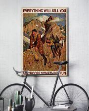 Alpinist Choose Something Fun 24x36 Poster lifestyle-poster-7