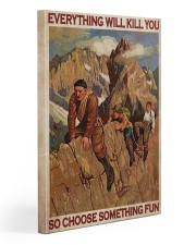 Alpinist Choose Something Fun Gallery Wrapped Canvas Prints tile