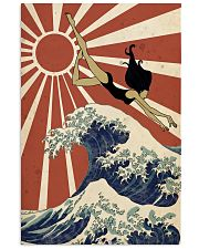 Swimming The Great Wave Off Kanagawa  24x36 Poster front