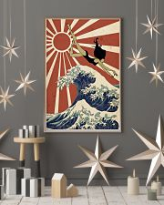 Swimming The Great Wave Off Kanagawa  24x36 Poster lifestyle-holiday-poster-1