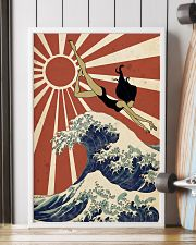 Swimming The Great Wave Off Kanagawa  24x36 Poster lifestyle-poster-4