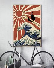 Swimming The Great Wave Off Kanagawa  24x36 Poster lifestyle-poster-7