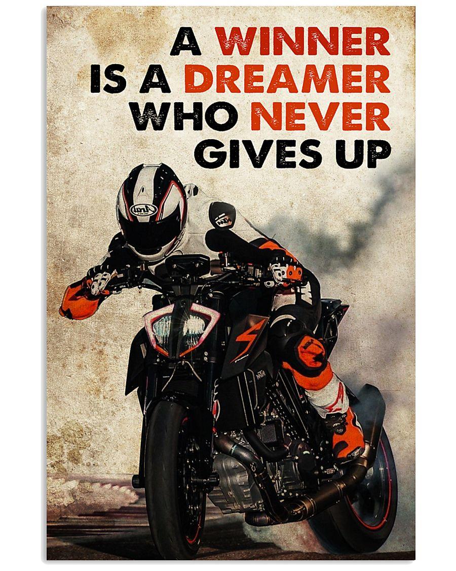 Biker Dreamer 24x36 Poster
