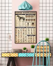 Horse Knowledge 16x24 Poster lifestyle-poster-6