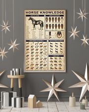 Horse Knowledge 24x36 Poster lifestyle-holiday-poster-1