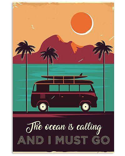 Campervan Surfing Retro