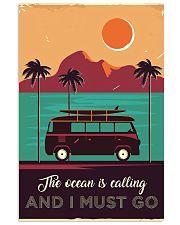 Campervan Surfing Retro 24x36 Poster front
