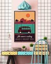 Campervan Surfing Retro 24x36 Poster lifestyle-poster-6