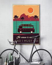 Campervan Surfing Retro 24x36 Poster lifestyle-poster-7