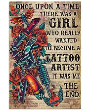 OUAT Girl Become Tattoo Artist  Vertical Poster tile