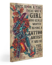 OUAT Girl Become Tattoo Artist  20x30 Gallery Wrapped Canvas Prints thumbnail