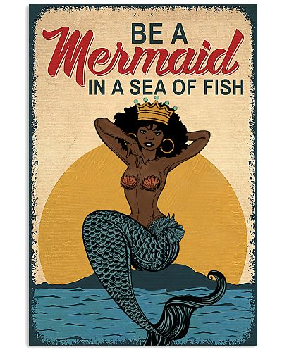 Be A Mermaid Afro