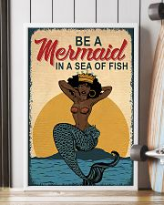 Be A Mermaid Afro 24x36 Poster lifestyle-poster-4