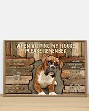Boxer When Visiting  36x24 Poster poster-landscape-36x24-lifestyle-03