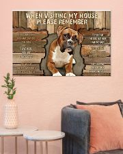 Boxer When Visiting  36x24 Poster poster-landscape-36x24-lifestyle-18