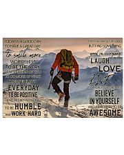 Mountaineering Good Day 36x24 Poster front