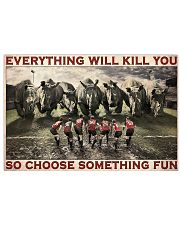 Rugby Rhino Choose Something Fun 36x24 Poster front