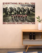 Rugby Rhino Choose Something Fun 36x24 Poster poster-landscape-36x24-lifestyle-22