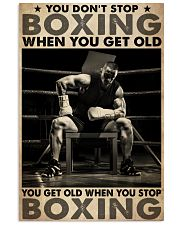 Boxing You Don't Stop 24x36 Poster front