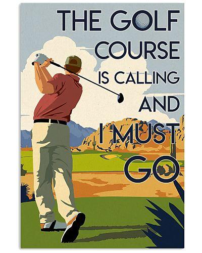 Man Golf Course Calling