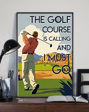 Man Golf Course Calling 24x36 Poster lifestyle-poster-2