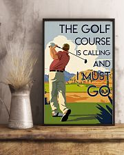 Man Golf Course Calling 24x36 Poster lifestyle-poster-3