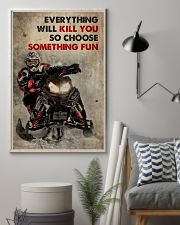 Snowcross A Winner Is A Dreamer 2 24x36 Poster lifestyle-poster-1