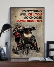 Snowcross A Winner Is A Dreamer 2 24x36 Poster lifestyle-poster-2