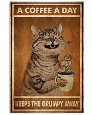 Cat Coffee I Drink 24x36 Poster front