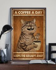 Cat Coffee I Drink 24x36 Poster lifestyle-poster-2