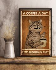 Cat Coffee I Drink 24x36 Poster lifestyle-poster-3