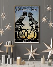 Cyclist Kissing 24x36 Poster lifestyle-holiday-poster-1