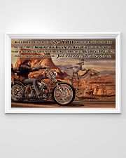 Motor And Horse Ride While On 36x24 Poster poster-landscape-36x24-lifestyle-02