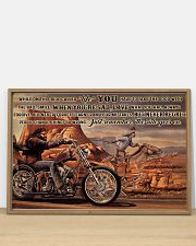 Motor And Horse Ride While On 36x24 Poster poster-landscape-36x24-lifestyle-03