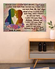 Gay Couple When I Say 36x24 Poster poster-landscape-36x24-lifestyle-22