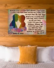 Gay Couple When I Say 36x24 Poster poster-landscape-36x24-lifestyle-23
