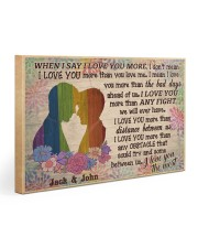 Gay Couple When I Say 30x20 Gallery Wrapped Canvas Prints thumbnail