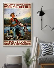Duck Hunting When You Get Old 24x36 Poster lifestyle-poster-1