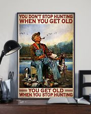Duck Hunting When You Get Old 24x36 Poster lifestyle-poster-2
