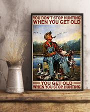 Duck Hunting When You Get Old 24x36 Poster lifestyle-poster-3