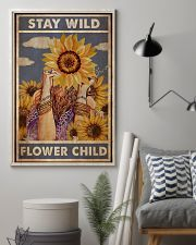 Stay Wild Flower Child 24x36 Poster lifestyle-poster-1
