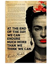 FK At The End Of The Day  24x36 Poster front