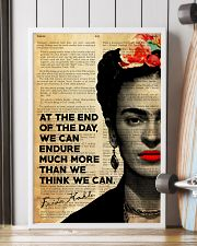 FK At The End Of The Day  24x36 Poster lifestyle-poster-4