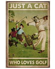 Just A Cat Loves Golf  24x36 Poster front