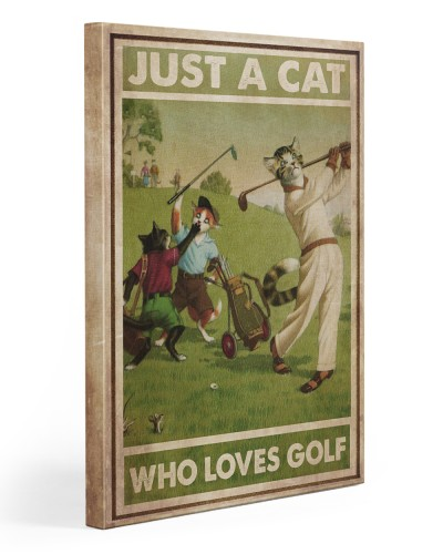 Just A Cat Loves Golf