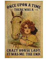 Crazy Horse Lady Dictionary  24x36 Poster front