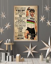 Cycling Today Is A Good Day 24x36 Poster lifestyle-holiday-poster-1