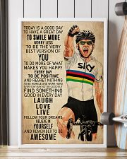 Cycling Today Is A Good Day 24x36 Poster lifestyle-poster-4
