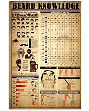 Beard Knowledge 11x17 Poster front
