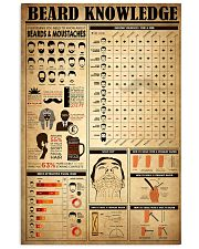 Beard Knowledge 16x24 Poster front